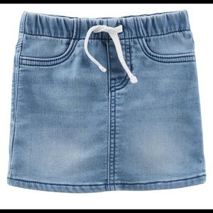 NEW! Osh Kosh Baby Denim Skirt